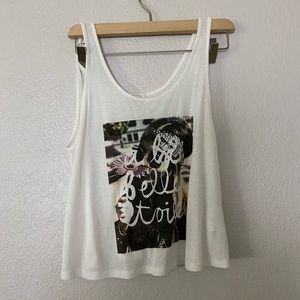 Forever 21 large graphic tank